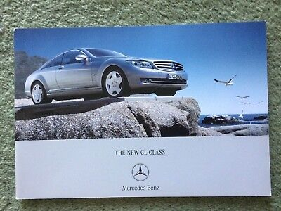 Mercedes CL Class brochure Oct 2006 in Excellent condition
