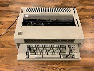 Ibm Wheelwriter 10 Series Ii Electric Typewriter - Type 6783