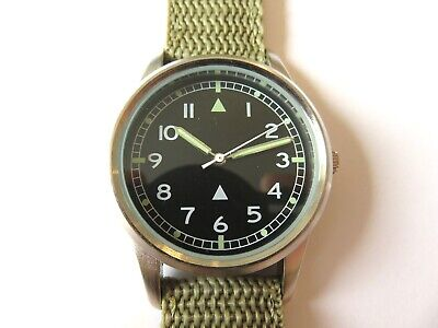 EAGLEMOSS 1960's BRITISH RAF REPLICA MILITARY WATCH #10 NEW & BOXED £4.99 segunda mano  Embacar hacia Spain