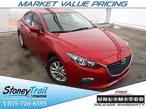 2016 Mazda Mazda3 GS - HEATED SEATS! UNLIMITED MILEAGE WARRANTY!