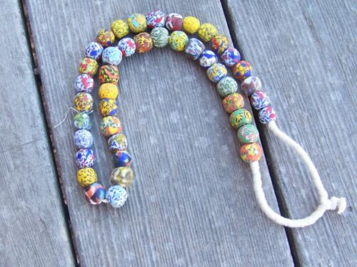 Venetian Millefiori African Trade Beads