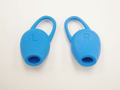 Genuine Plantronics BackBeat FIT Spare Earplugs EarGels Kit BLUE Color 202121-01