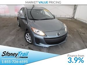 2013 Mazda Mazda3 GX - LOCAL AB TRADE IN! CLEAN CARPROOF!