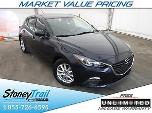 2016 Mazda Mazda3 GS at - UNLIMITED MILEAGE WARRANTY! CONV. PKG!