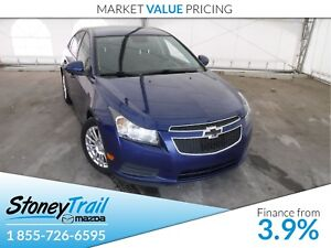 2013 Chevrolet Cruze ECO - LOCAL TRADE! CLEAN CARPROOF!
