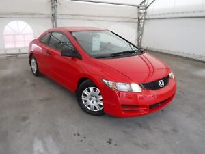 2009 Honda Civic DX COUPE - ONE OWNER / LOCAL VEHICLE HISTORY