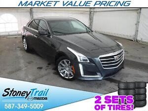 2015 Cadillac CTS 2.0L Turbo CTS - ONE OWNER / CLEAN & LOCAL...