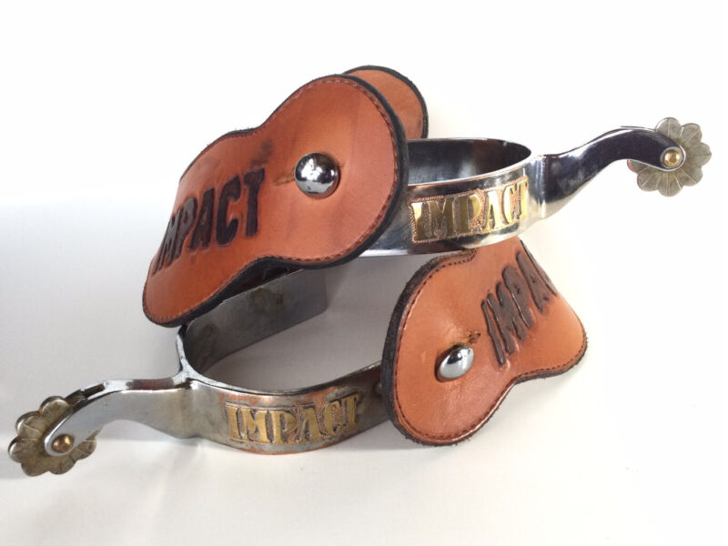 Western Cowboy Spurs And Straps Custom Made One Of A Kind