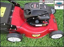 "DCM Briggs & Stratton BS550 18"" Mulch or Catch Lawn Mower 4.5HP Bulimba Brisbane South East Preview"