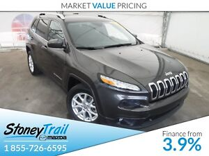 2014 Jeep Cherokee North - LOCAL ALBERTA TRADE IN! GREAT FEATURE