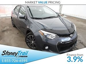 2016 Toyota Corolla S- 2 SETS RIMS/TIRES! SUNROOF!  BACKUP CAMER