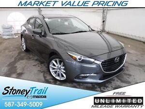 2017 Mazda 3 GT GT PREMIUM - 2 SETS OF RIMS & TIRES / LOADED