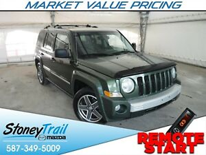 2008 Jeep Patriot Limited 4WD - LIMITED / LEATHER / SUNROOF