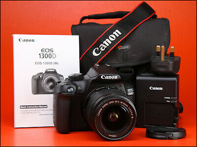 Canon EOS 1300D DSLR Camera + 18-55mm III Zoom Lens Kit + WiFi + 1080p HD Video