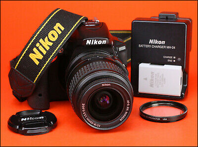 Nikon D5500 DSLR Camera + Nikon 18-55mm II Lens Kit + Built in WiFi & Snapbridge