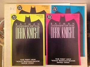 Batman: Legends of the Dark Knight # 1 - Near Mint - All four covers