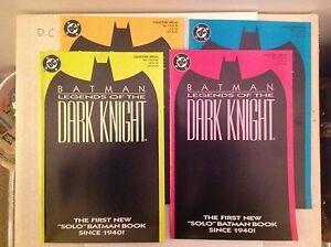 Batman: Legends of the Dark Knight # 1 - Near Mint - All four covers