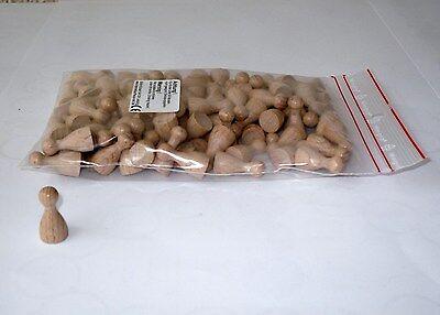 100 Stück Halmakegel a.Holz 25 mm natur Pöppel Spielfiguren online kaufen