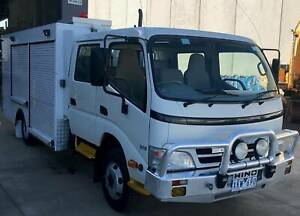 2009 HINO 300 DUAL CAB SERVICE VEHICLE Derrimut Brimbank Area Preview