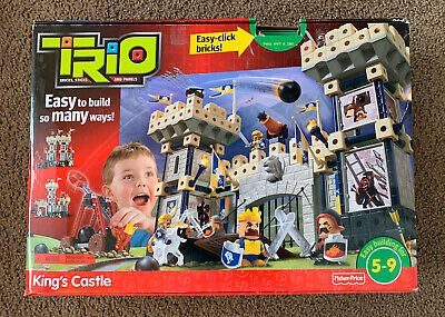 TRIO KINGS CASTLE BY FISHER PRICE. NEW WITH ALL THE PIECES.