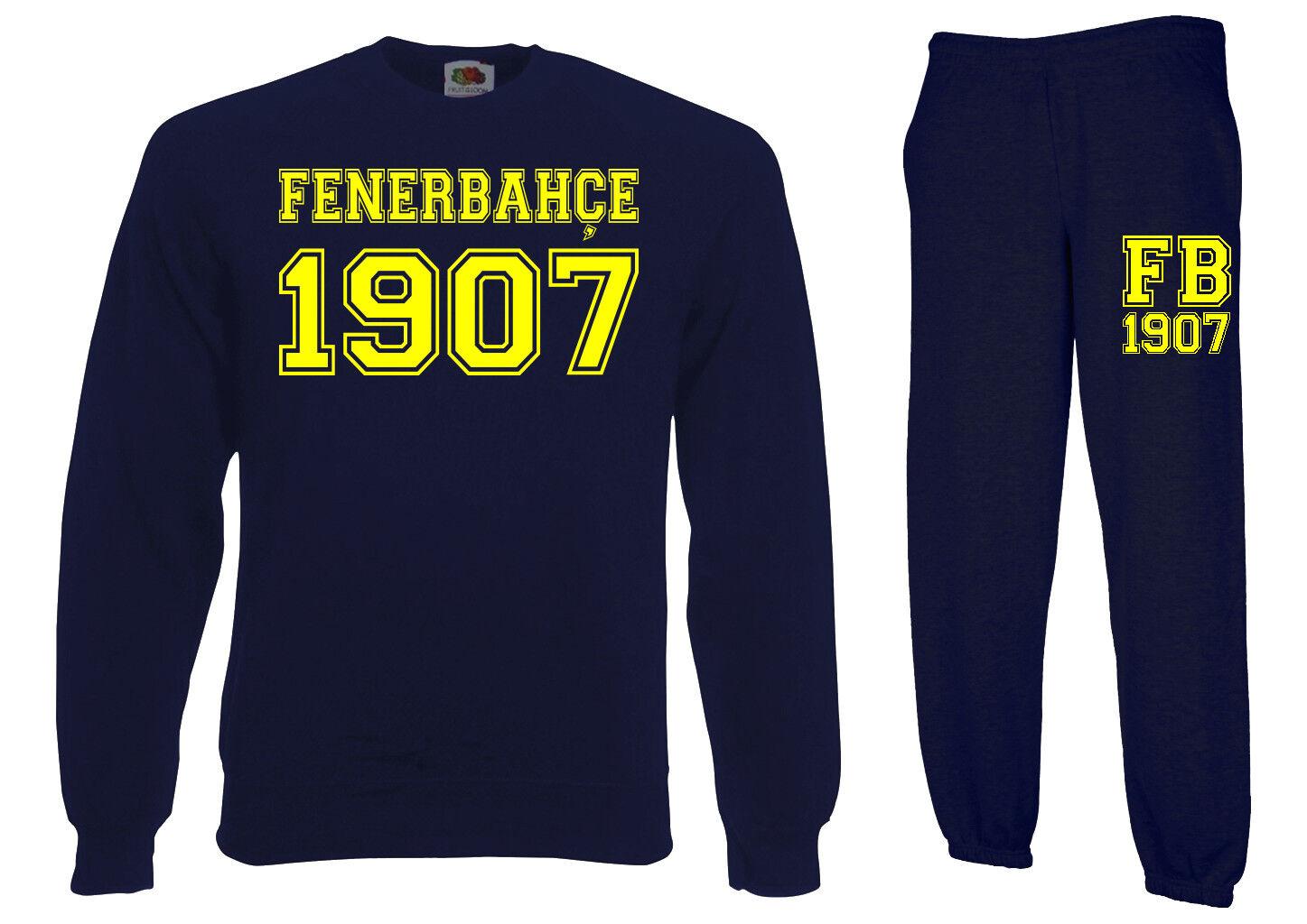 Pullover + Trainingshose 2er Set FENERBAHCE Istanbul S-XXL trikot sweater hose