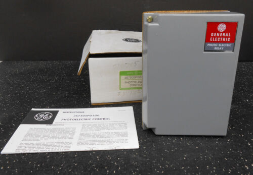 GENERAL ELECTRIC PHOTOELECTRIC CONTROL RELAY 3S7505PG520A6