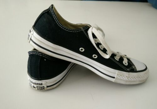 Converse All Star Chuck Taylor Canvas Shoes Low Top Brand New NAVY size 3.5 Mens