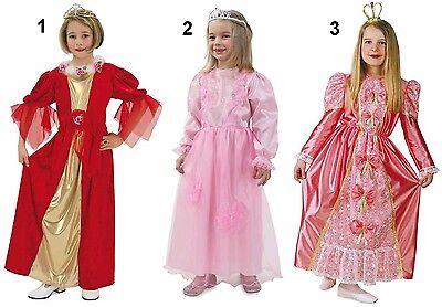 Prinzessin Königin Kostüm Fasching Karneval Kinder Mädchen Prinzessinnenkostüm ()
