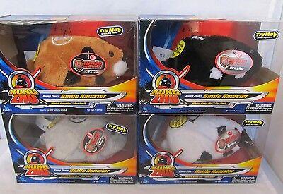 4 Pack Kung Zhu Battle Hamsters: Azer, Yama, Thorn, & Drayko  NIB
