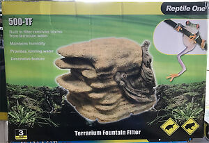 Reptile One Terrarium Fountain Filter 500-TF Brand New Londonderry Penrith Area Preview