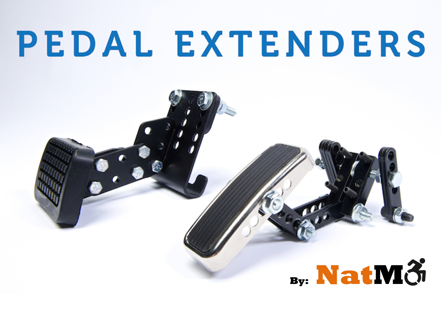 Driving Aids Pedal Extenders Extensions by National Mobility Products