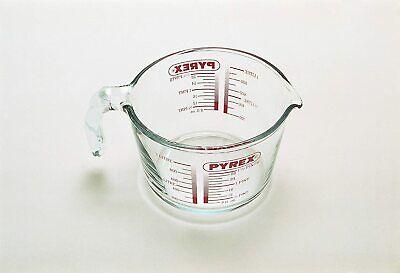 Pyrex Glass Measuring Jug, 1L Litre Kitchen Cooking Jugs Accessories Equipment