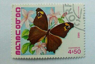 Cabo Verde 1982. Butterflies. 1 value. New