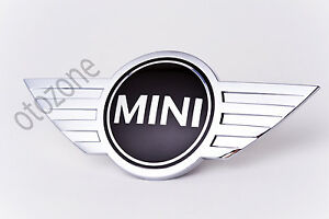 BMW MINI Cooper FRONT Emblem OEM NEW  51142754972 genuine