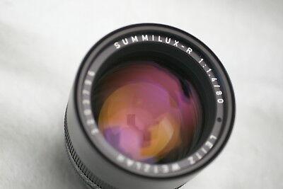 Leica R Summilux  80mm f1.4  Excellent condition