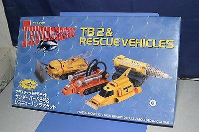 Thunderbirds Classic TB2 RESCUE VEHICLES Aoshima Toysrus JAPAN