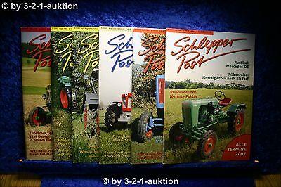 Schlepper Post Jahrgang 2007 Heft 1-6