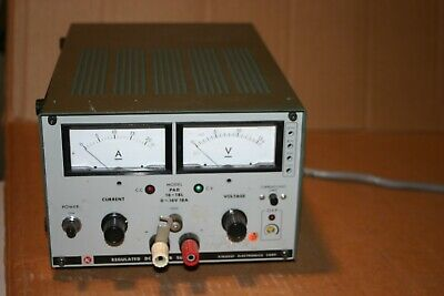 Kikusui Model Pad 16-18l Regulated Dc Power Supply 0-16vdc 0-18a C.c C.v Ovp