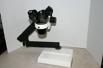 Olympus Sz Stereozoom Microscope 9-40x On Articulating Stand Nice