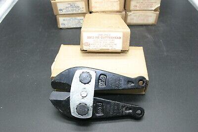 H.k. Porter 0013ne Cutterhead - For 18 Bolt Cutter Capacity- 516- 38 New Nos