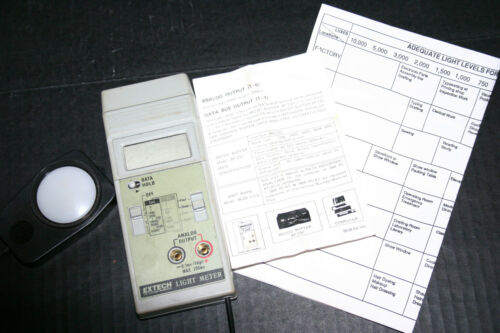 Extech Light Meter Lux Plus manual
