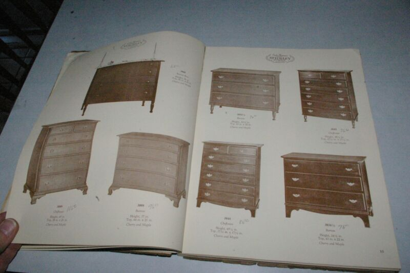 Vintage Stickley of Fayetteville Cherry & Maple Furniture Catalog #21 183 pages