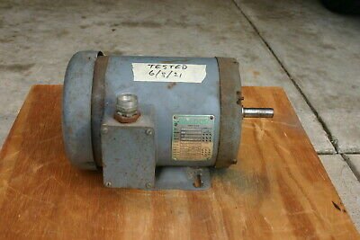 Baldor 3 Phase Electric Motor. 12 Hp. 1725 Rpm. Made In Usa.