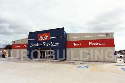 Durobeam Steel 75x96x24 Metal Red Iron Prefabricated Modular Building Kit Direct