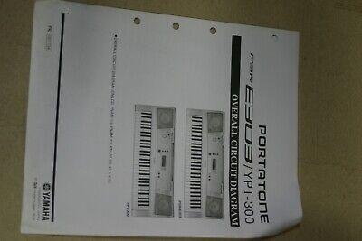 Yamaha PSR-E303/YPT-300Portatone Overall Circuit Diagram comprar usado  Enviando para Brazil