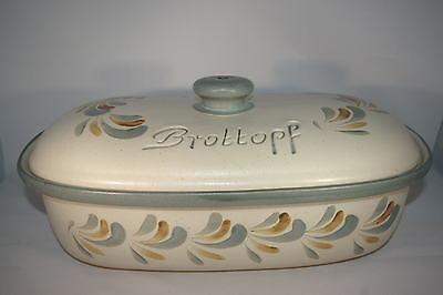 Brottopf 40 cm Schilf Oval NEU, Steinzeug Westerwald