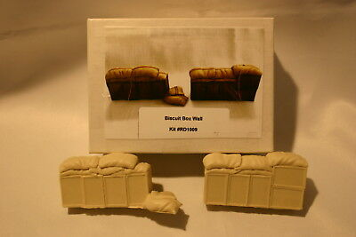 54MM  ZULU WARS biscuit box wall KIT # RD1009