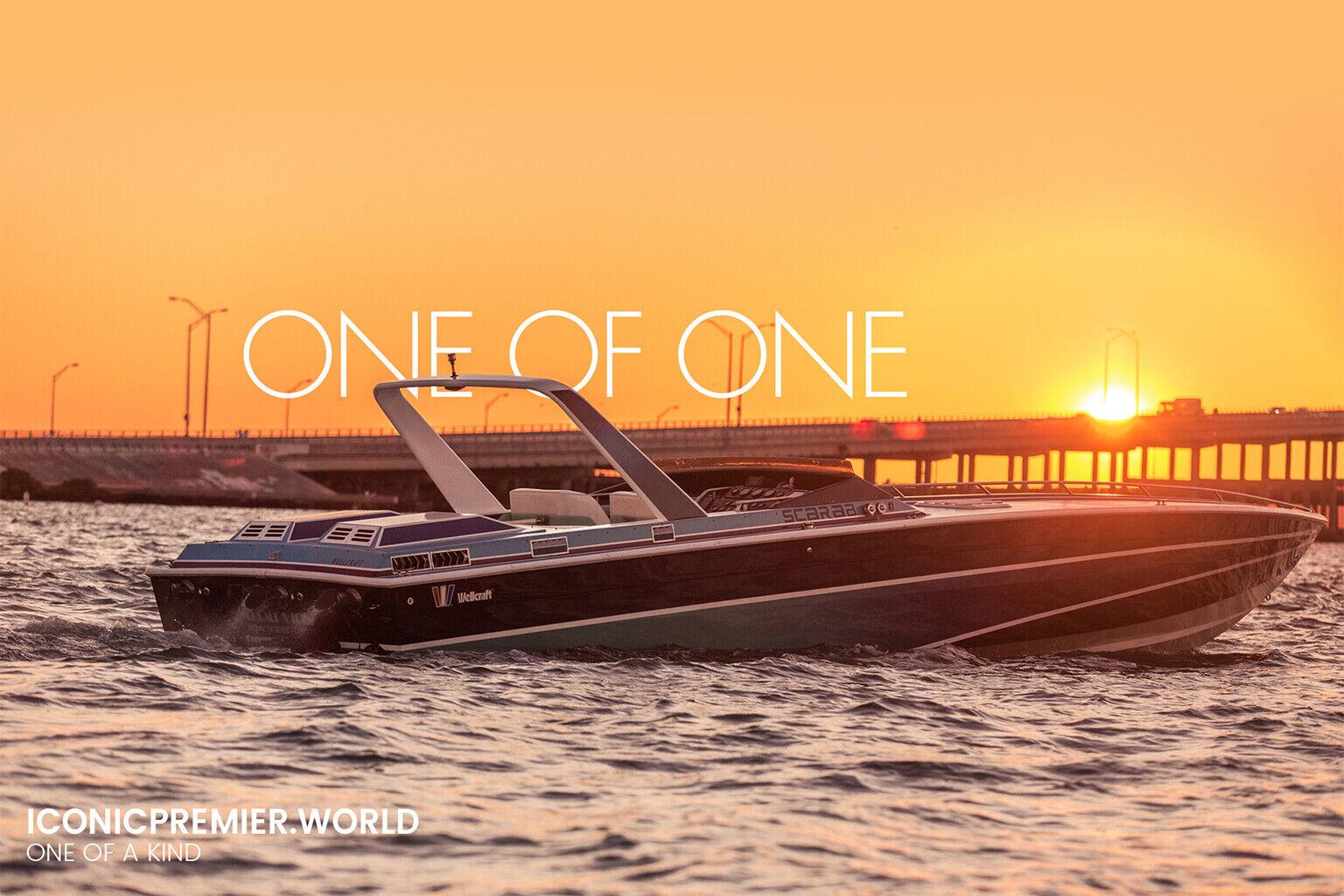 1986 Scarab 38' KV,The Actual Original Miami Vice boat, Driven by Don Johnson