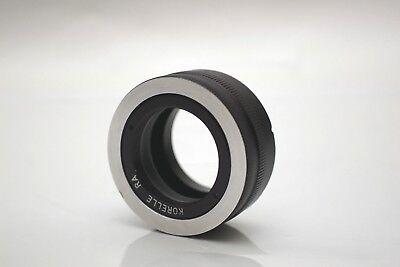 Reflex Korelle Radionar Medium Format Lens to Canon EF mount adjustable Adapter Canon Medium Format
