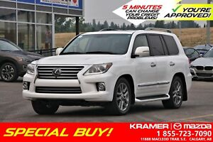 2014 Lexus LX570 Ultra Premium Package